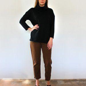 esby apparel st. ann turtleneck, black, xs